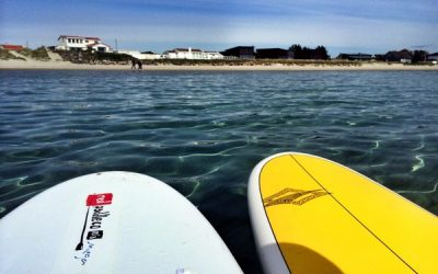 SUP at Sola beach in May
